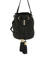 See By Chloe Small Vicki Grained Leather Bucket Bag