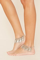 Forever 21 Layered Foot Chain Set