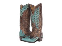 Stetson Bella Crackled Brown Vamp Women's Boots