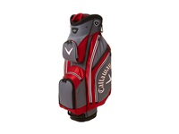 Callaway Chev Cart Bag Charcoal Red White Athletic Sports Equipment
