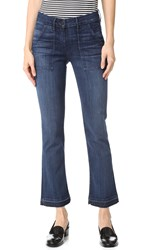 3X1 W2 Military Crop Boot Cut Jeans Gunner