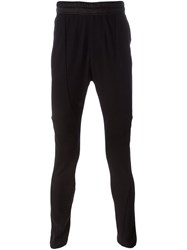 Julius Elasticated Waistband Leggings Black