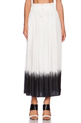 Dress Gallery Sunset Maxi Skirt White