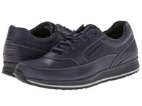 Rockport Crafted Sport Casual Mudguard Oxford Navy Men's Lace Up Casual Shoes