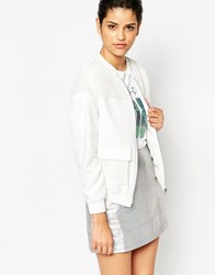 Frankie Morello Chaund Jacket White