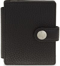 Reiss Cash Leather Card Holder Black