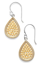Anna Beck 'Gili' Small Teardrop Earrings Gold Silver