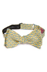 Men's Vineyard Vines 'Bonefish' Silk Bow Tie