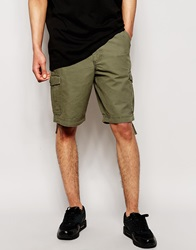 Bench Pocket Cargo Short Green