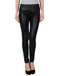 Shine Casual Pants Black
