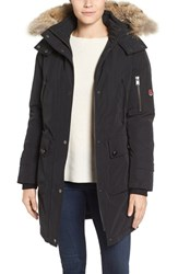 Pendleton Women's 'Jackson' Hooded Down Parka With Genuine Coyote Fur Trim