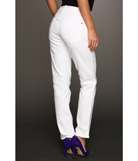 Miraclebody Jeans Sandra D. Ankle Jean White Women's Jeans