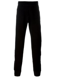 Lanvin Gathered Ankle Track Pants Black