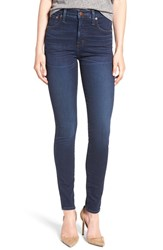 Madewell Women's High Rise Ankle Skinny Jeans Hayes Wash