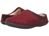 Old Friend Curly Burgundy Women's Slippers
