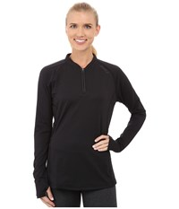 2Xu Hyoptik Zip Thru Top Black Black Women's Clothing