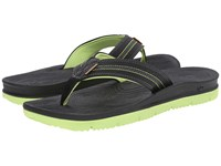 Freewaters Tall Boy Black Neon Green Men's Shoes