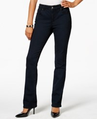 Charter Club Petite Indigo Blue Wash Straight Leg Jeans Only At Macy's