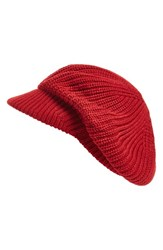 Echo Women's 'Gibson Girl' Knit Hat Red Painter Red