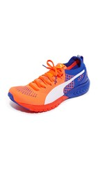 Puma Ignite Dual Evoknit Sneakers Red Blast Royal Blue White