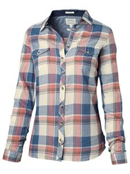 Fat Face Twill Classic Fit Check Shirt Multi
