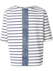 Antonio Marras Striped T Shirt White