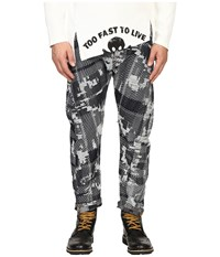 Vivienne Westwood Anglomania Banana Crop Jeans In Blue Denim