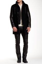 Rogue Genuine Leather Jacket Black