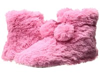 Hue Furry Bootie Pink Pout Women's Slippers