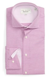 Ted Baker Men's London 'Dequan' Trim Fit Texture Dress Shirt