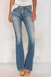 Nasty Gal Citizens Of Humanity Fleetwood High Waisted Flare Jean
