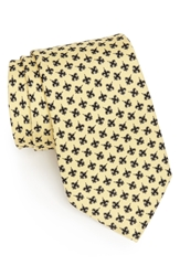 Vineyard Vines New Orleans Saints Print Tie Yellow