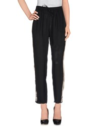Nude Trousers Casual Trousers Women Black