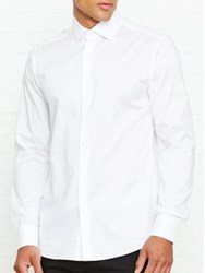 Reiss Christopher Classic Fit Long Sleeved Shirt White