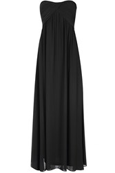Alice And You Ruched Bandeau Maxi Dress Black