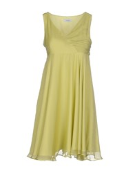 Max And Co. Dresses Short Dresses Women Light Green