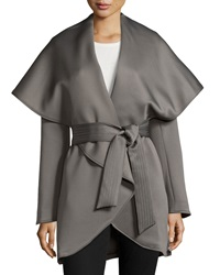 Raison D'etre Cape Sleeve Wrap Trenchcoat Moonrock