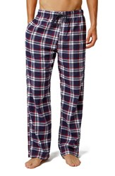 Men's Topman Plaid Cotton Pajama Pants