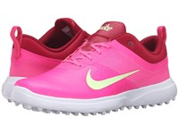 Nike Akamai Pink Blast Noble Red White Barely Volt Women's Golf Shoes