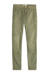 Current Elliott Skinny Cargo Pants Green