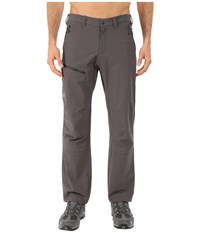 Jack Wolfskin Activate Pants Normal Dark Steel Men's Casual Pants Brown