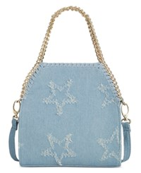 Inc International Concepts Mini Kadi Denim Crossbody Only At Macy's Denim Stars