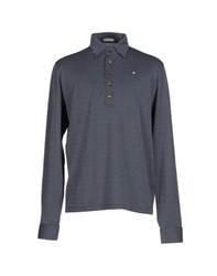 Ballantyne Topwear Polo Shirts Men Dark Blue