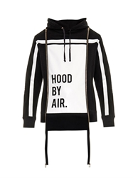Hood By Air Horizon Striped Hooded Sweatshirt