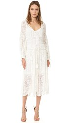 Zimmermann Gossamer Scallop Dress Ivory