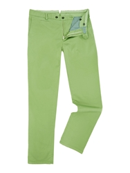 Richard James Slim Fit Casual Chino Green