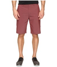 Travis Mathew Hefner Short Oxblood Men's Shorts Red