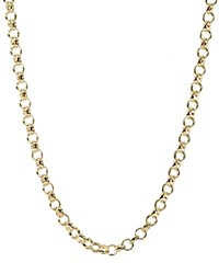 Jet Set Candy Rolo Chain Necklace 30 Gold