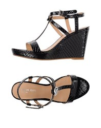 Armani Jeans Footwear Sandals Women Black