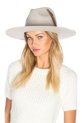 Brixton Crossroads Fedora Light Gray